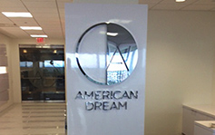 American Dream - Interior Signage