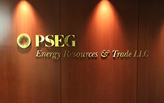 PSEG Energy Resources & Trade - Interior Sign