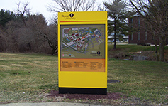 Rowan University - Monument Sign