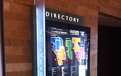 Simon Properties - Simon Mall - The Shops at Riverside Directory - Interior Sign